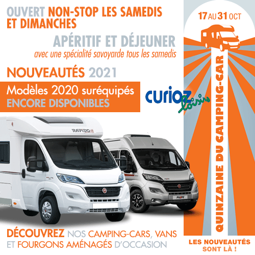 POP-UP quinzaine du camping-car 2020